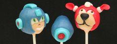 Midtown Sweets | Megaman Cake Pops