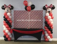 "Blow it Up Balloons specializes in unique and affordable balloon decor that adds the perfect ""pop"" of beauty and excitement to any event. Ornament Wreath, Ornaments, Up Balloons, Balloon Decorations, Mickey Mouse, Birthdays, Polka Dots, Home Decor, Anniversaries"