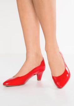 Caprice - Klassiske pumps - red