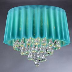 Warehouse of Tiffany 5 Light Crystal Chandelier