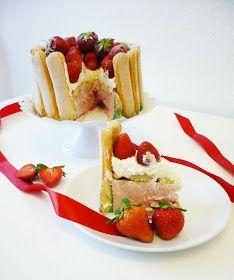 kleinundzuckersüß: Erdbeer-Charlotte