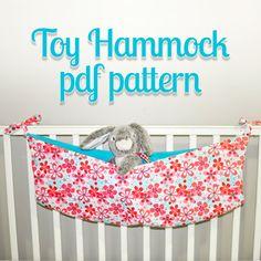 Toy Hammock Pattern by mammacandoit on Etsy, $5.00