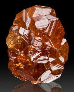 Grossular Garnet Crystal Nugget