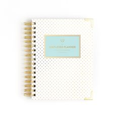 2018 Daily, Simplified Planner, Gold Dot by Emily Ley