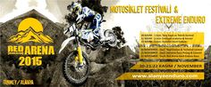 The engine's noise, jumps, turns: Motocross in Alanya