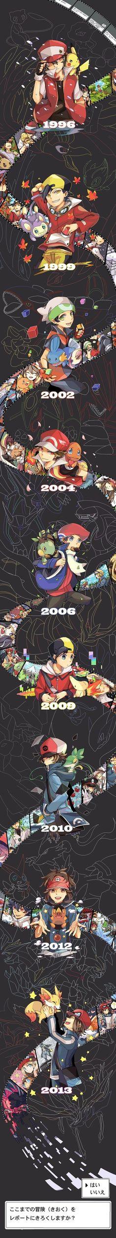 Pokémon ~~ Game Successfully Saved... Continue?: