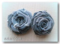 Текстильные броши.   biser.info - всё о бисере и бисерном творчестве
