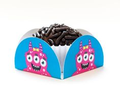 Forminhas para docinhos para imprimir e decorar a festa no tema Monstrinhos!