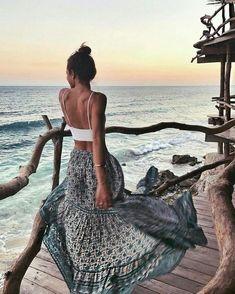 Sexy beach outfits ideas 16 boho fashion summer outfits, fashion clothes, s Boho Fashion Summer, Summer Fashion Outfits, Holiday Outfits, Spring Outfits, Fashion Clothes, Summer Beach Outfits, Outfit Summer, Summer Dresses, Beach Outfits Women Vacation