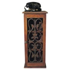 I pinned this Islip Telephone Stand from the Rustic Elegance event at Joss and Main!even though I don't own a phone like this.