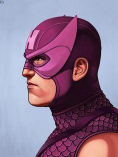 Mike Mitchell x Marvel x Mondo - Hawkeye