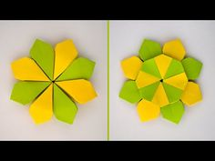 Origami Tutorial, Diy Tutorial, Origami Ball, Modular Origami, Oragami, House Drawing, Paper Flowers Diy, Craft Videos, Artsy Fartsy