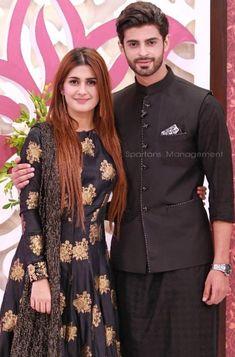 Saad Qureshi with Kubra Khan
