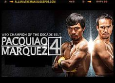 Watch 'Pacquiao vs Marquez 4' Online Live Streaming | ALLAN is the MAN