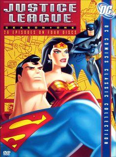 Justice League: Season One (DC Comics Classic Collection) Justice League Season 1, Dc Animated Series, George Newbern, Phil Lamarr, Dc Comics, Kevin Conroy, Collection Manager, Michael Rosenbaum, Video On Demand