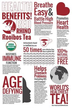 chrysoeriol anti inflammatory compound of Rooibos. Benefits of Rooibos Tea Infographic Blood Pressure Symptoms, Blood Pressure Chart, Blood Pressure Remedies, Red Rooibos Tea, Smoothie, This Is Your Life, Detox Tea, Drinking Tea, Health And Wellness