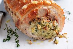 Christmas feasts call for something truly special, so jazz up your roast pork with this glorious fresh thyme stuffing.