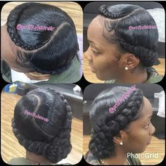 ***Try Hair Trigger Growth Elixir*** ========================= {Grow Lust Worthy Hair FASTER Naturally with Hair Trigger} ========================= Go To: www.HairTriggerr.com ========================= Super Cute Bunned Goddess Braids!!