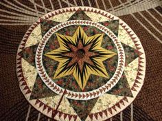 Christmas Celebration Tree Skirt, Quiltworx.com, Made by Kathy McKinney of Quakers Quilt Guild.