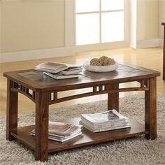 Preston Caster Coffee Table I Riverside Furniture