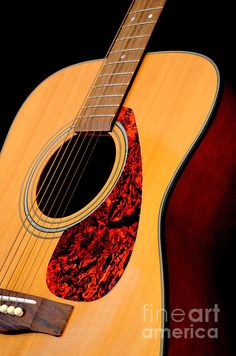 Yamaha Guitar No 3 by Mary Deal. April avatar for the month on Music CD Cover Designs.