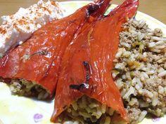 Cookbook Recipes, Cooking Recipes, Greek Recipes, Lasagna, Risotto, Meat, Yum Yum, Ethnic Recipes, Food