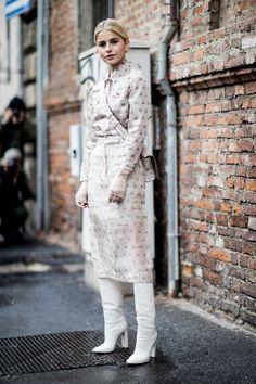 Milan Fashion Week Street Style Fall 2018 Day 2 - The Impression