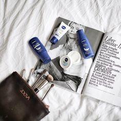 """390 Me gusta, 34 comentarios - I R I A (@myblueberrynightsblog) en Instagram: """"Estoy enamorada de la crema Soft de @nivea_es y para viajar es genial porque sirve para cara,…"""""""