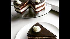 Míša dort   Videorecept   CZ/SK HD recipe - YouTube Chocolate Velvet Cake, Cakepops, Tiramisu, Cheesecake, Vegetarian, Cupcakes, Make It Yourself, Ethnic Recipes, Youtube