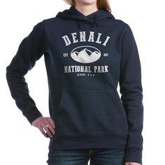denali national park Womens Hooded Sweatshirt on CafePress.com