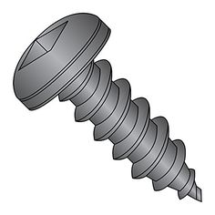 18-8 Stainless Steel Sheet Metal Screw Pan Head 3//4 Length Type A Star Drive #6-18 Thread Size Pack of 100 Plain Finish