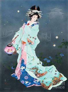Японская художница Haruyo Morita. Гейши