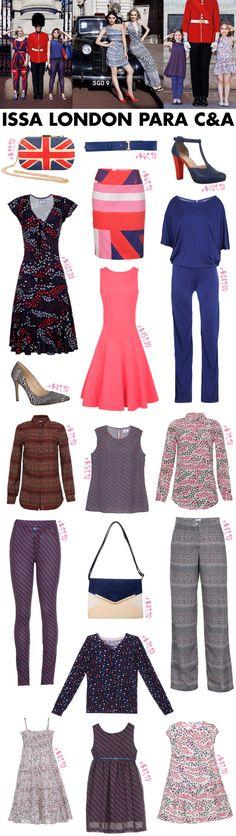 Issa London, Issa, Parceria, C&A, Kate Middleton, Londres, coleção, preços, lançamento, vestido estampado, data, dia