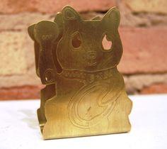 """Money Cat"" (envelope holder)- Yaritza Perez- Age: 19- Amundsen High School- Spring 2013- SOLD"