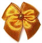 Groomer: Harvest Gold Bow