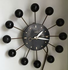Mid century modern Snider clock. | Collectors Weekly Classic Clocks, Telling Time, Mid-century Modern, Mid Century, Antiques, Vintage, Design, Home Decor, Antiquities