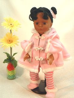 18 inch African American Toddler's doll
