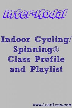 Indoor Cycling Instructors: New Class Profile