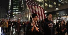 Widespread protests are not common in modern American history in response to a presidential election.