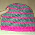Háčkovaný kulich Knitted Hats, Beanie, Knitting, Fashion, Moda, Tricot, Fashion Styles, Breien, Stricken