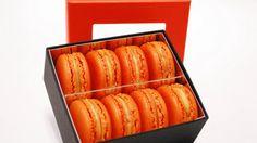 Francois Payard's Pumpkin Macarons
