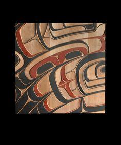 Phil Gray - Thunderbird Panel - Red Cedar, Acrylic, x x Native Art, Native American Art, Haida Art, Inuit Art, Native Design, Indigenous Art, Panel Art, Art Themes, Sacred Art