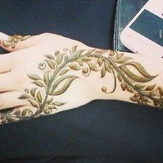 Beautiful henna