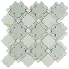 Creating a union of old-fashioned elegance and modern artistry is no simple task and yet, the Edredon does so beautifully. The Edredon has a variety of pale gray old-world patterns and a light stone look in an assortment of small squares and octagons.