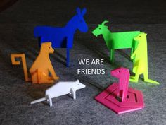 WE ARE FRIENDS. WE COME IN MANY SHAPES. YOU CAN MAKE US IF YOU WANT. AND JOIN US IN OUR JAPES. JOIN US.