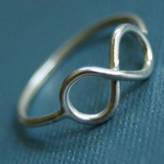 Infinity Ring by sudlow on Etsy, $38.00