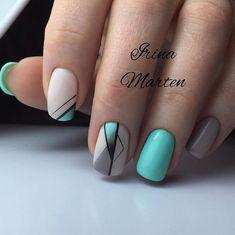 Irina Marten МОСКВА, м КУРСКАЯ ( Shellac Nails, Manicure And Pedicure, Acrylic Nails, Nail Polish, Elegant Nail Designs, Diy Nail Designs, Stylish Nails, Trendy Nails, Subtle Nail Art