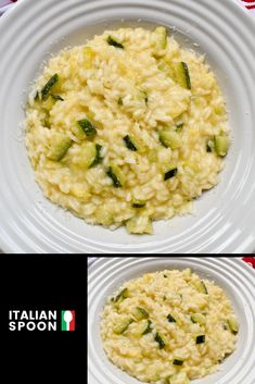 Zucchini's risotto is a creamy vegetarian risotto made with fresh zucchini, onions and freshly grated Parmigiano Reggiano. Learn how to make the perfect risotto in 25 minutes. Lemon Risotto Recipes, Italian Pasta Recipes, Gourmet Recipes, Healthy Recipes, Yummy Recipes, How To Make Risotto, Parmigiano Reggiano, Zucchini, Truffles