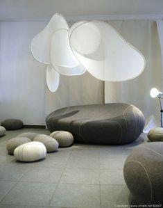 Coussin Hervé - Livingstones Laine Pour l'intérieur - @Made in Design @Designer Stephanie Marin