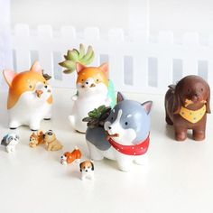 Cheap flower pot, Buy Quality flower pot wholesale directly from China wholesale flower pots Suppliers: Animals Cartoon Resin Flowerpots Akita Husky Dachshund Planters Succulent Plants Dog Flower Pot Factory Wholesale /Drop Shipping